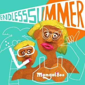 MONGOL800『ENDLESS SUMMER』のジャケットアートワークを担当しました。